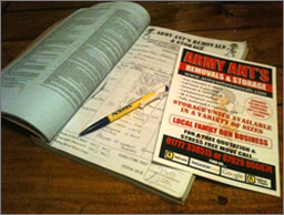 Army Ants quotation book and leaflet