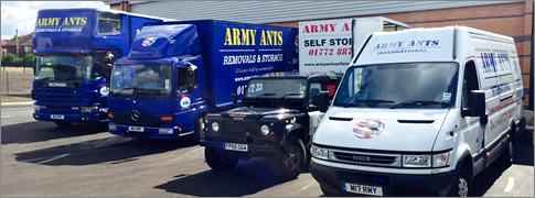 Army Ants Removals Fleet Vehicles